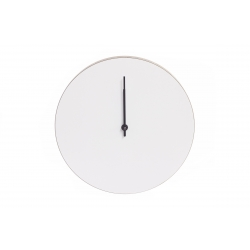 Kiekko Wall Clock, White