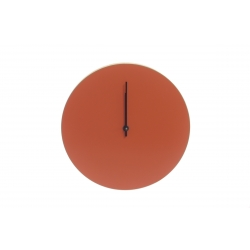 Kiekko Wall Clock, Brick
