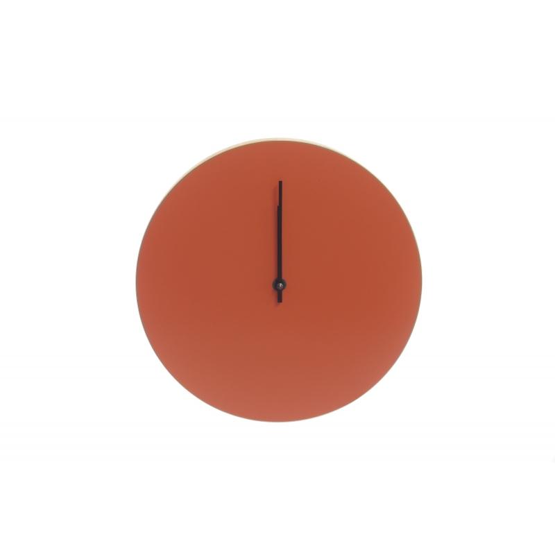 Kiekko wall clock brick Muoto2