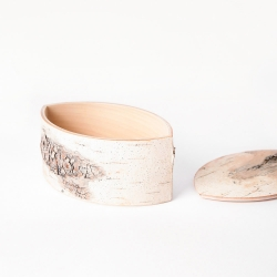 Lehti Birch Bark Box