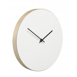 Kiekko wall clock white Muoto2